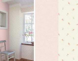 Tapet lavabil floral gama LITTLE FLORALS