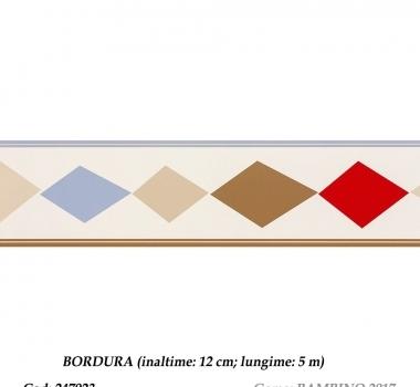 Bordura-tapet-cu-romburi-gama-BAMBINO-cod-247923