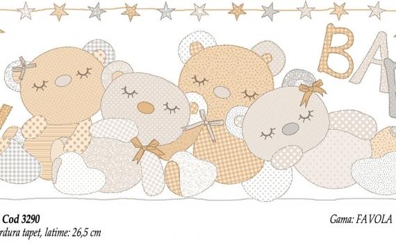 Bordura-tapet-cu-ursuleti-pentru-copii-gama-FAVOLA-cod-3290