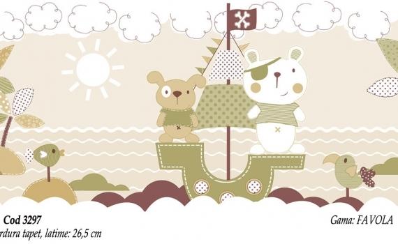 Bordura-tapet-cu-ursuleti-pentru-copii-gama-FAVOLA-cod-3297