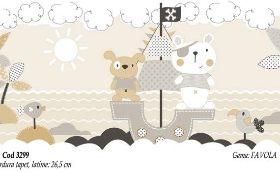 Bordura-tapet-cu-ursuleti-pentru-copii-gama-FAVOLA-cod-3299