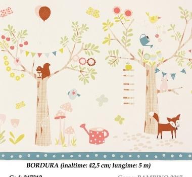 Bordura-tapet-pentru-copii-gama-BAMBINO-2017-cod-247312
