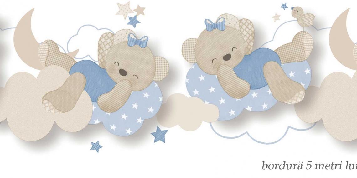 Bordura-tapet-ursuleti-albastri
