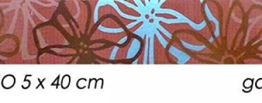 Brau-faianta-decor-rosu-FRESH-FLY-ROJO-5x40-cm