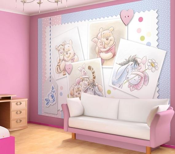 COD 1491 - Fototapet pentru copii Winnie the Pooh ambient