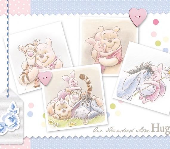 COD 1491 - Fototapet pentru copii Winnie the Pooh