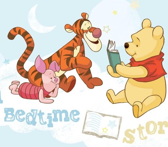 COD 314VE - Fototapet pentru copii WINNIE THE POOH A BED TIME STORY