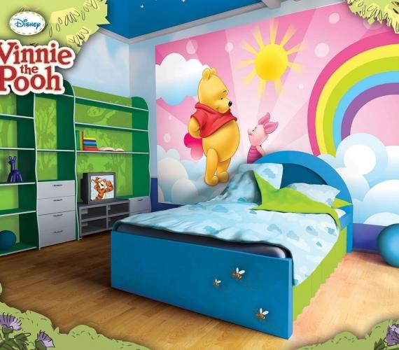COD 4-007 - Fototapet pentru copii WINNIE THE POOH AND PIGLET ambient