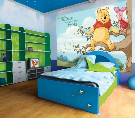 COD 807VE - Fototapet pentru copii Winnie The Pooh And Piglet