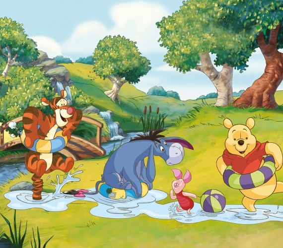 COD 808VE - Fototapet pentru copii WINNIE THE POOH AND FRIENDS