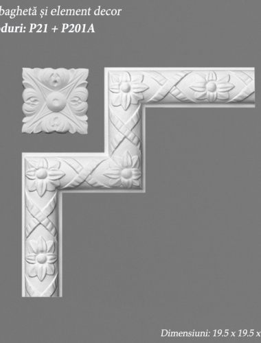 Coltar-bagheta-decor-perete-si-element-decor-coduri-P21-si-P201A-ORAC-DECOR