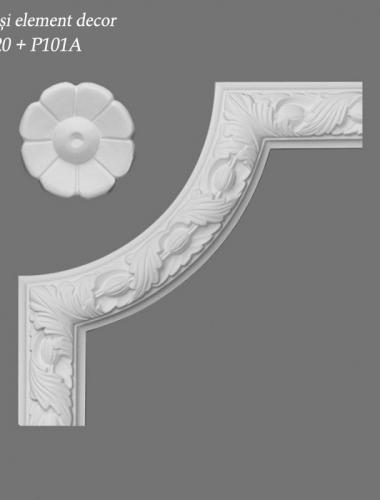 Coltar-decorativ-pentru-bagheta-perete-si-element-decor-P20-si-P101A-ORAC-DECOR