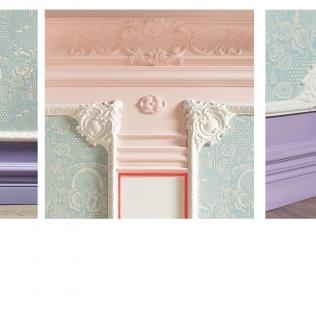 Coltare pentru baghete decor perete gama CORNERS.