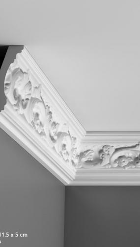 Cornisa cu ornamente pentru tavan cod C201