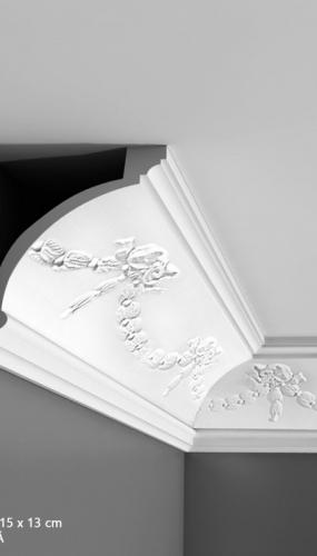 Cornisa cu ornamente pentru tavan cod C218