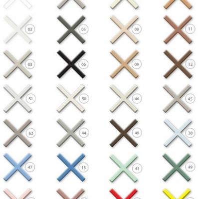 Culori chit pentru acoperirea rosturilor ceramica lichida Fugalite Eco Kerakoll