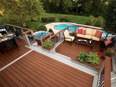 decking, pardoseala din lemn pentru exterior, deck