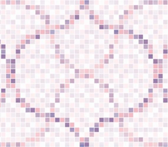 Decor faianta cu aspect de mozaic PRISMA MALVA 20 x 60 cm MOSAIC