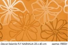 Decor-faianta-orange-FRESH-FLY-NARANJA-25x40-cm