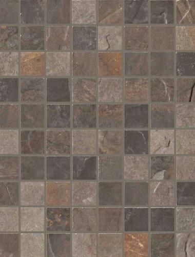 Placa decor gresie cu aspect de mozaic  MULTICOLOR MOSAICO