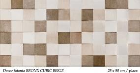 Faianta-mozaic-BRONX-CUBIC-BEIGE-KEROS-25X50CM-PLACA