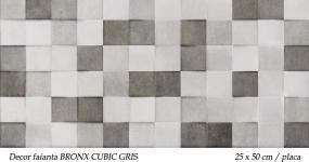 Faianta-mozaic-gri-BRONX-CUBIC-GRIS-KEROS-25X50CM-PLACA