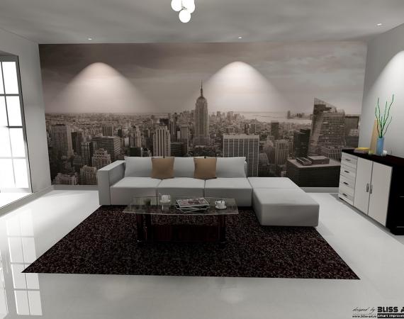 fototapet-alb-negru-peisaj-new-york-cod-403-ambient