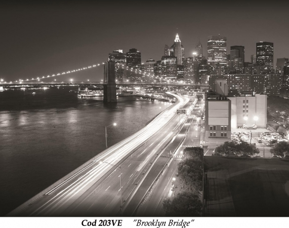 fototapet-alb-negru-peisaj-urban-brooklyn-bridge-cod-203ve