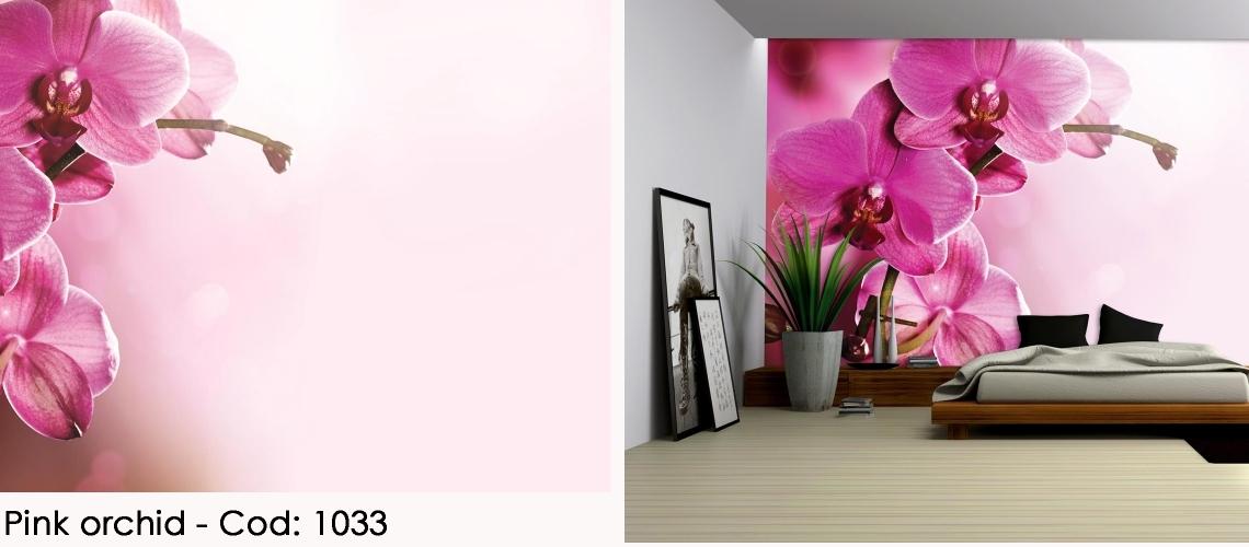 Fototapet orhidee roz cod 1033
