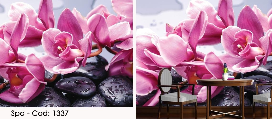 Fototapet orhidee roz cod 1337