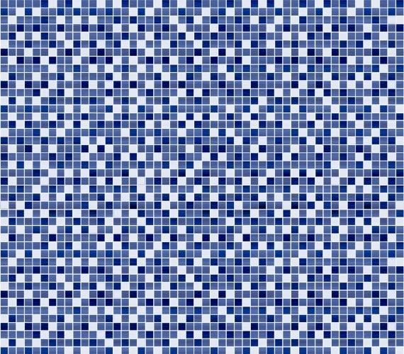 Gresie albastra cu aspect de mozaic MOSAICO AZUL 33x33 cm