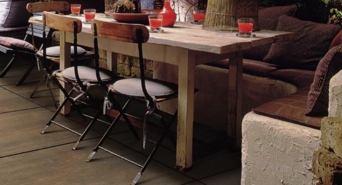 Gresie portelanata in masa, imitatie lemn, 2 cm, pentru exterior, gama BARK.
