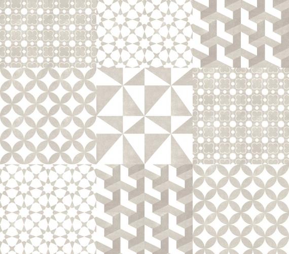 Gresie decor SEAMLESS (9 piese)