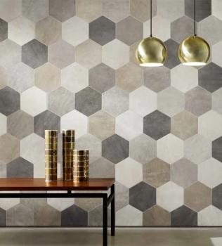 Gresie hexagon rectificata ICON