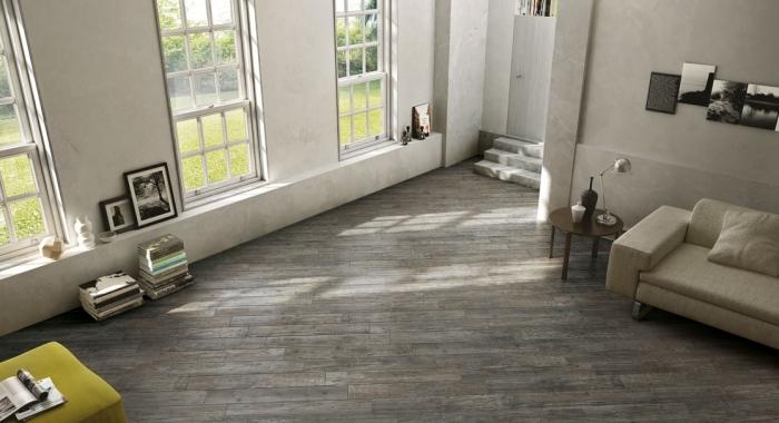 MULLED - Gresie imitatie parchet lemn gama KAURI