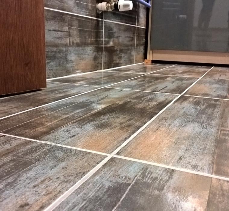 Gresie portelanata glazurata cu aspect de lemn gama REALITY KEROS