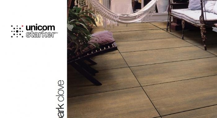 Gresie portelanata in masa cu aspect de lemn, pentru exterior, grosime 2 cm, gama BARK.