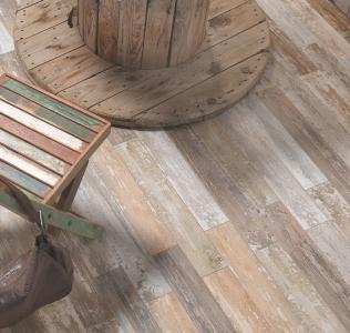 Gresie vintage tip parchet gama Backwood