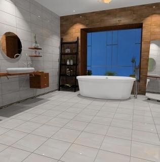 Amenajare baie cu gresie si faianta gama REALITY