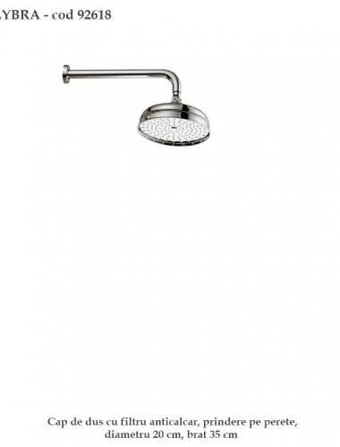 lybra-92618-cap-de-dus-anticalcar-20-cm-diametru-productie-f-lli-frattini-italia