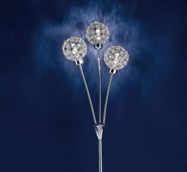 Lampa de podea cu cristale BERAMO 92571 productie EGLO AUSTRIA