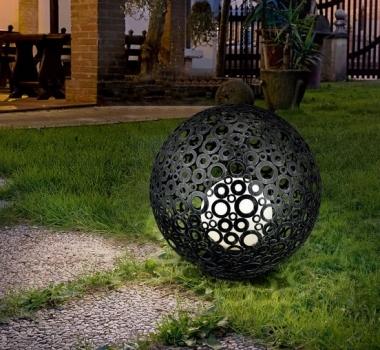Lampa iluminat exterior curte si gradina 89565 FERROTERRA  - BLISS ART DESIGN -