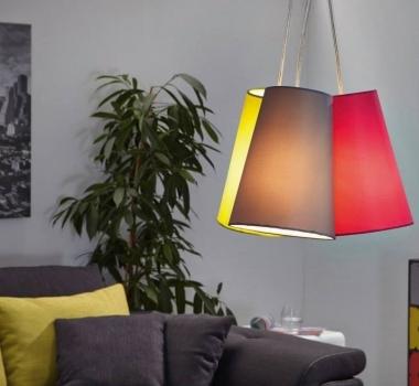 Lampadar colorat pentru dining NEVORRES 93533 productie EGLO AUSTRIA