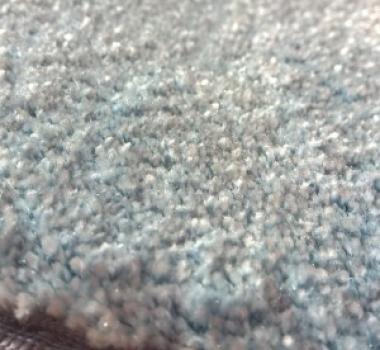 Mocheta bleu pufoasa pentru dormitor gama SATIN