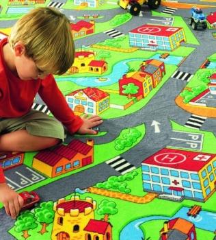 Mocheta pentru copii cu strazi Little Village