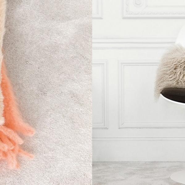 Mocheta pufoasa pentru dormitor si living gama SENSATION productie AW CARPETS Belgia