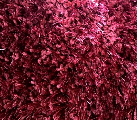 Mocheta rosie cu fir lung tip Shaggy gama PORTO cod 11