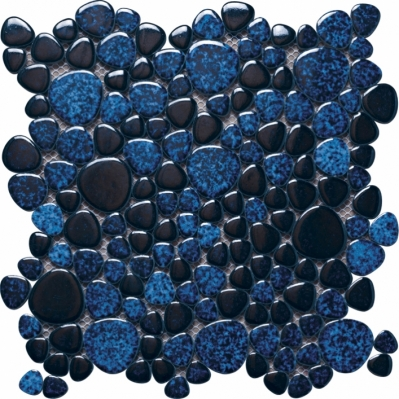 Mozaic din marmura albastra Silex Cobalto 30 x 30 cm - BLISS ART DESIGN
