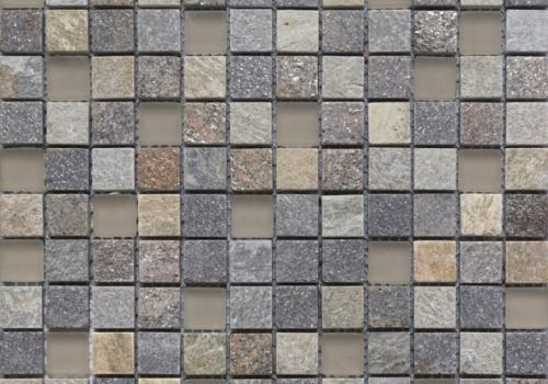 Mozaic din piatra naturala. Mozaic din marmura si sticla