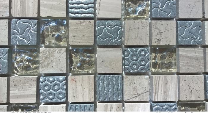 mozaic-din-marmura-si-sticla-cu-gravura-pause-beige-dimensiune-placa-30x30cm